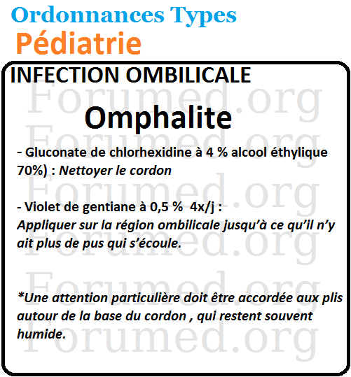 INFECTION OMBILICALE Omphalite