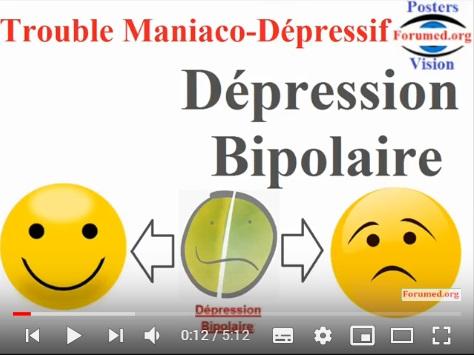 Les Symptomes du Trouble Bipolaire: (Depression & Mania) Bipolar Disorder