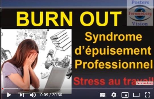Stress au travail: Burn Out ou syndrome d'épuisement professionnel