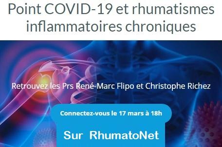 Point COVID-19 et rhumatismes inflammatoires chroniques