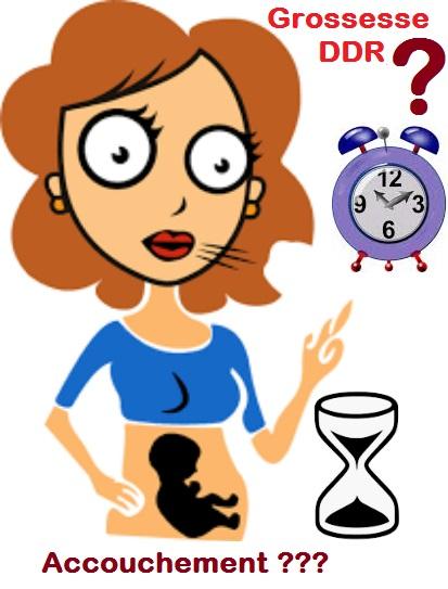 Application Calculer l'age de grossesse en semaines d'amenorrhee et en semaines de gestation