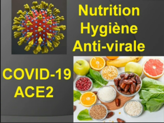 Traitement coronavirus Nutrition et Hygiène Anti-virale Covid19